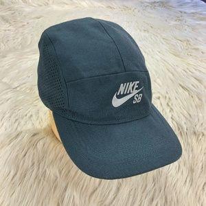 Nike SB Gray Adjustable Back Baseball Hat Cap
